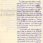 lettera di dimissioni di Gallo a Vittorio Sereni pag 1