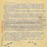 lettera 27 agosto 1958