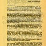 lettera 30 ottobre 1964 pag 1