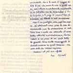 lettera di dimissioni di Gallo a Vittorio Sereni pag 2