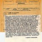 telegramma di Alberto Mondadori