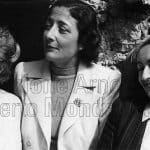 Foto di Alba con Sibilla Aleramo e Maria Luisa Astaldi, 1973