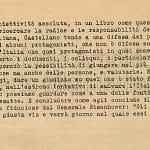 Primo comunicato stampa del dicembre 1945 pag 10