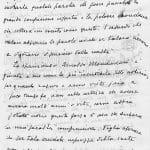 Lettera Aldo Palazzeschi pag 1