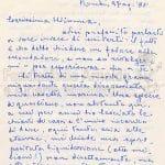 Lettere di Anna Banti pag 1