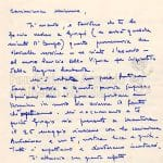 Lettere di Maria Bellonci pag 1