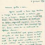 Lettere di Maria Bellonci 2 pag 1