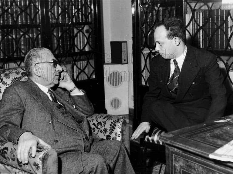 Arnoldo Mondadori e Linder