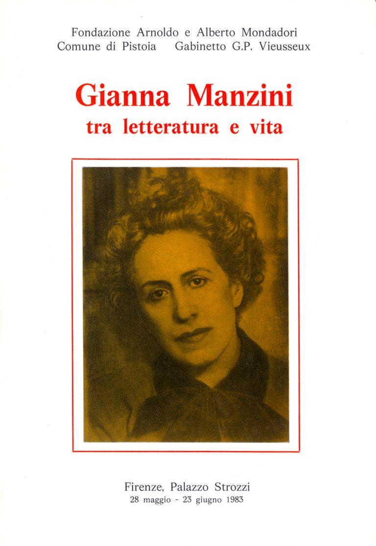 Gianna Manzini tra letteratura e vita