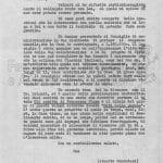 Lettera Milano 11 ottobre 1956