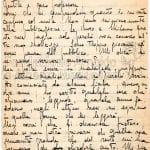 Lettera di Ninon Magri Nisio a Francesco Flora, luglio 1948 pag.1