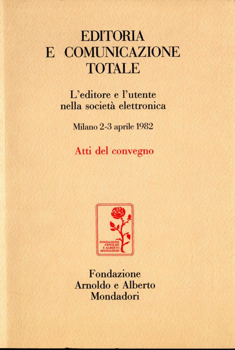 Editoria e comunicazione totale copertina