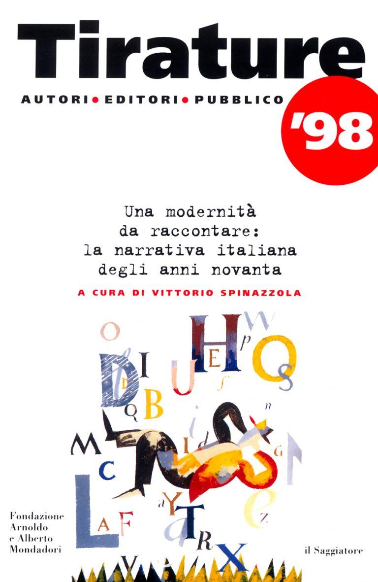Tirature 98 copertina