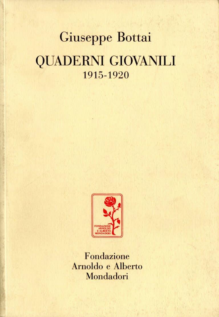 Quaderni giovanili 1915-1920