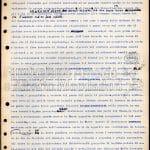 """Pagina dattiloscritta con correzioni autografe del """"Quaderno nero"""", inedito"""