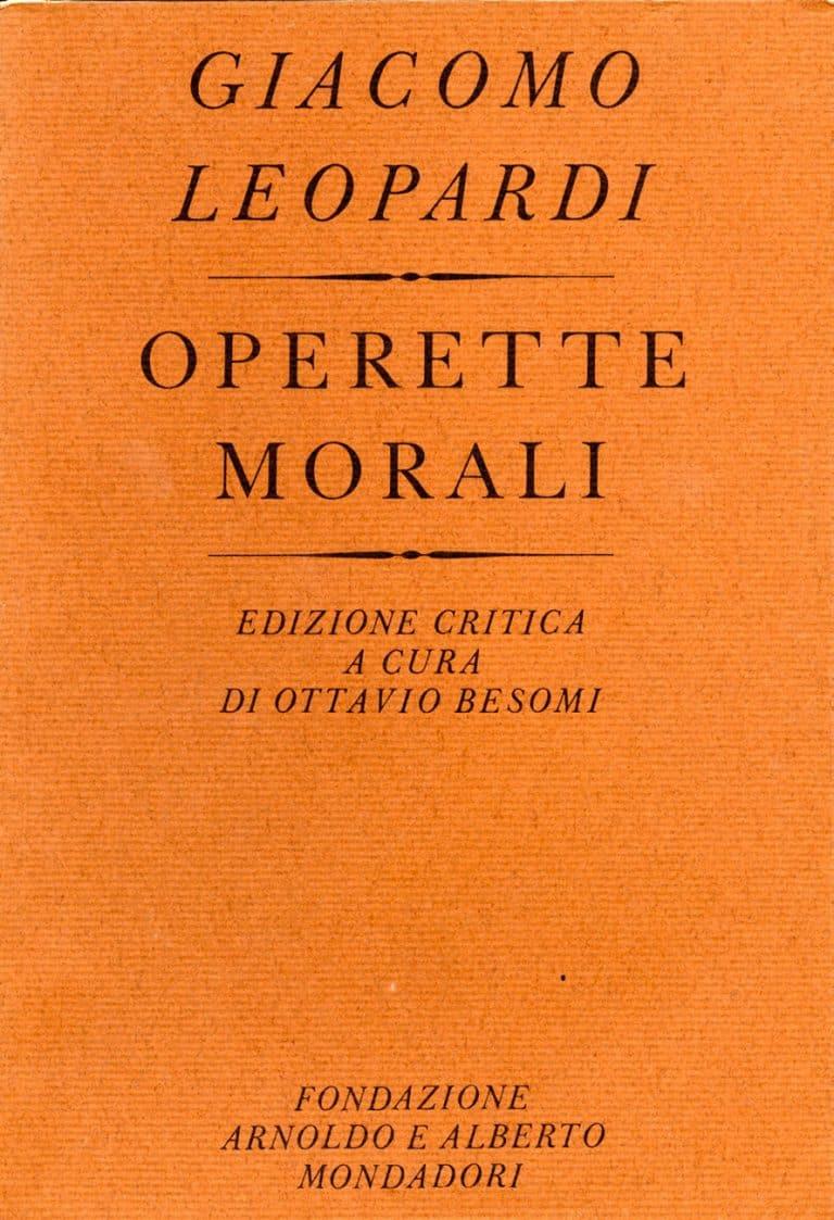 Giacomo Leopardi. Operette morali