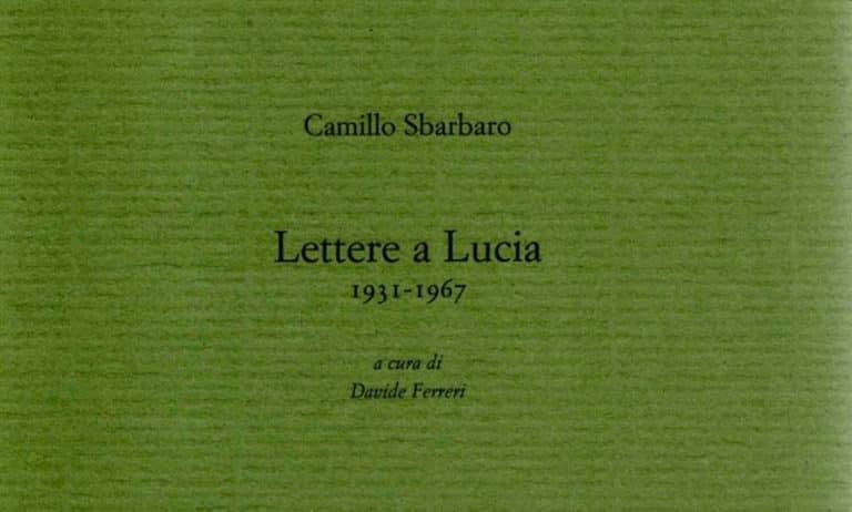Lettere a Lucia copertina