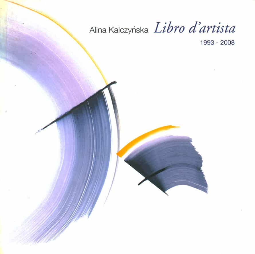Libro d'artista 1993-2008