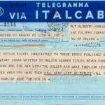 Telegramma Hemingway
