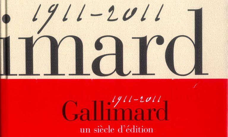 Catalogue Général Gallimard 1911-2011