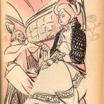 Illustrazione Carlotta a Weimar