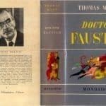 Doctor Faustus Mann copertina