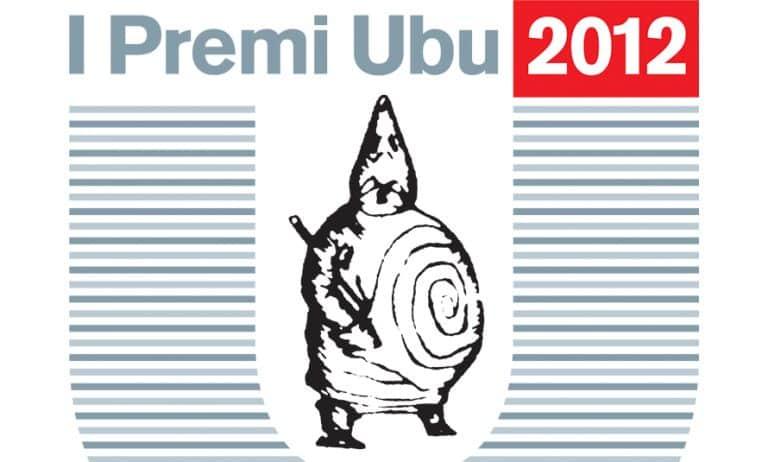 Premi UBU 2012 copertina