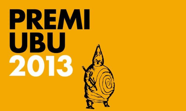 Premi UBU 2013 copertina