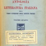 Flora, Antologia letteratura italiana