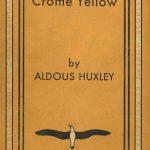 Huxley, Crome Yellow copertina
