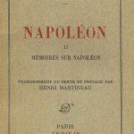 Stendhal Napoleon, copertina