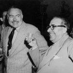 Ernest Hemingway e Arnoldo Mondadori