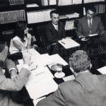 Riunione ditoriale al Saggiatore, 1968