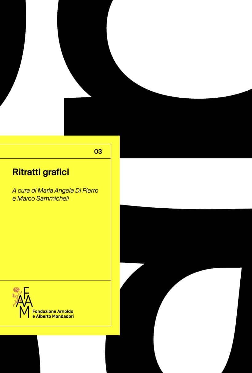 copertina del libro ritratti grafici, a cura di Maria Angela Di Pierro e Marco Sammicheli